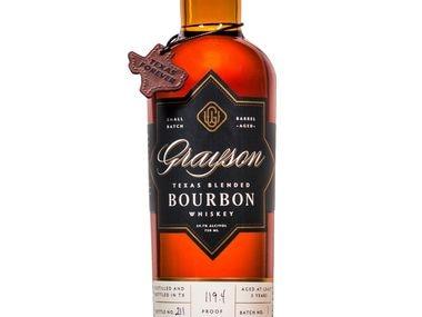 Grayson Texas Blended Bourbon Whiskey