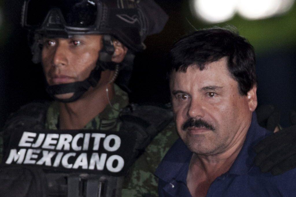 """Corte rechazó amparos interpuestos por Joaquín """"El Chapo"""" Guzmán, poniéndolo más cerca de la extradición. (ARCHIVO AP)"""