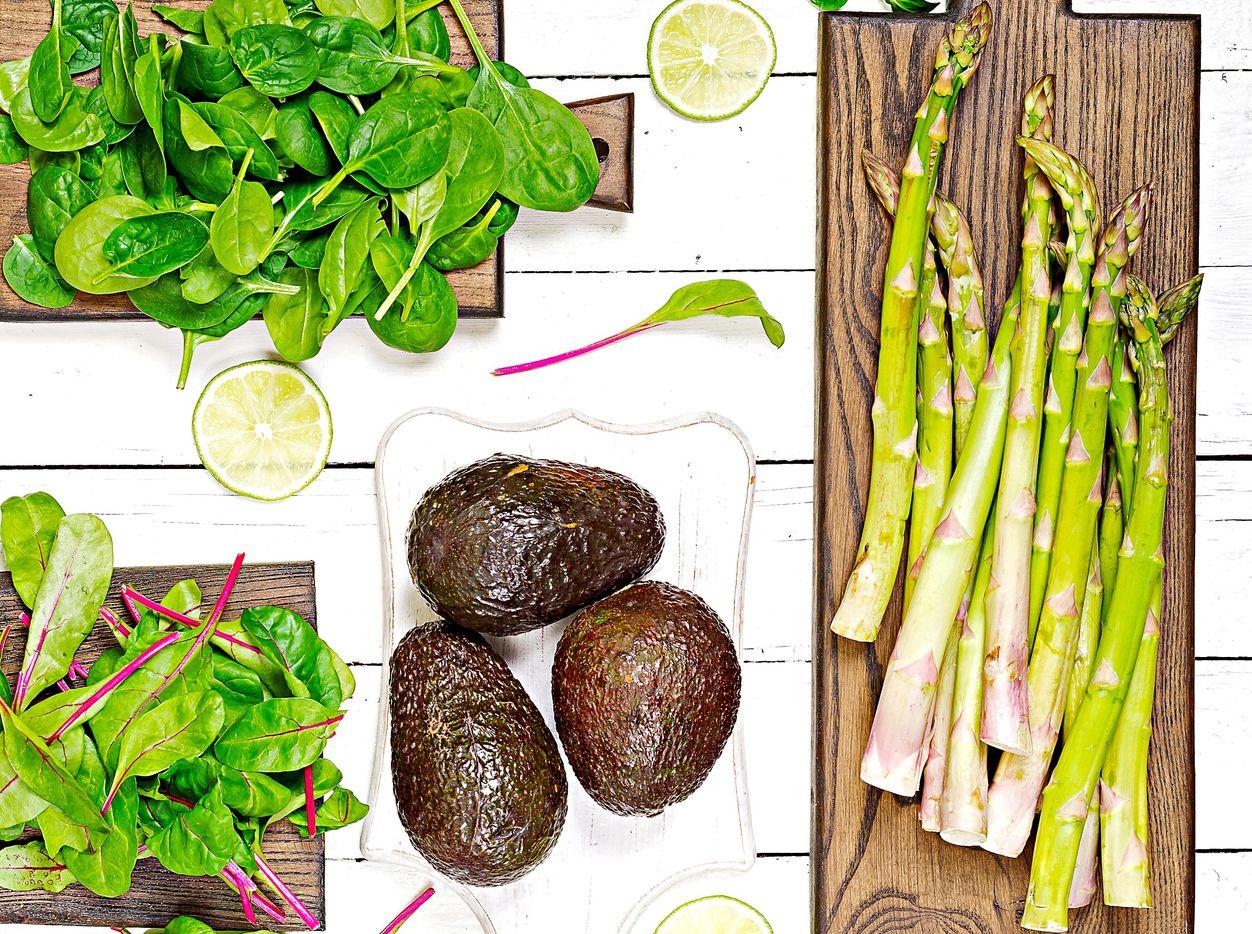 Los espárragos y otros vegetales ayudan a  estar tranquilos y conciliar el sueño.