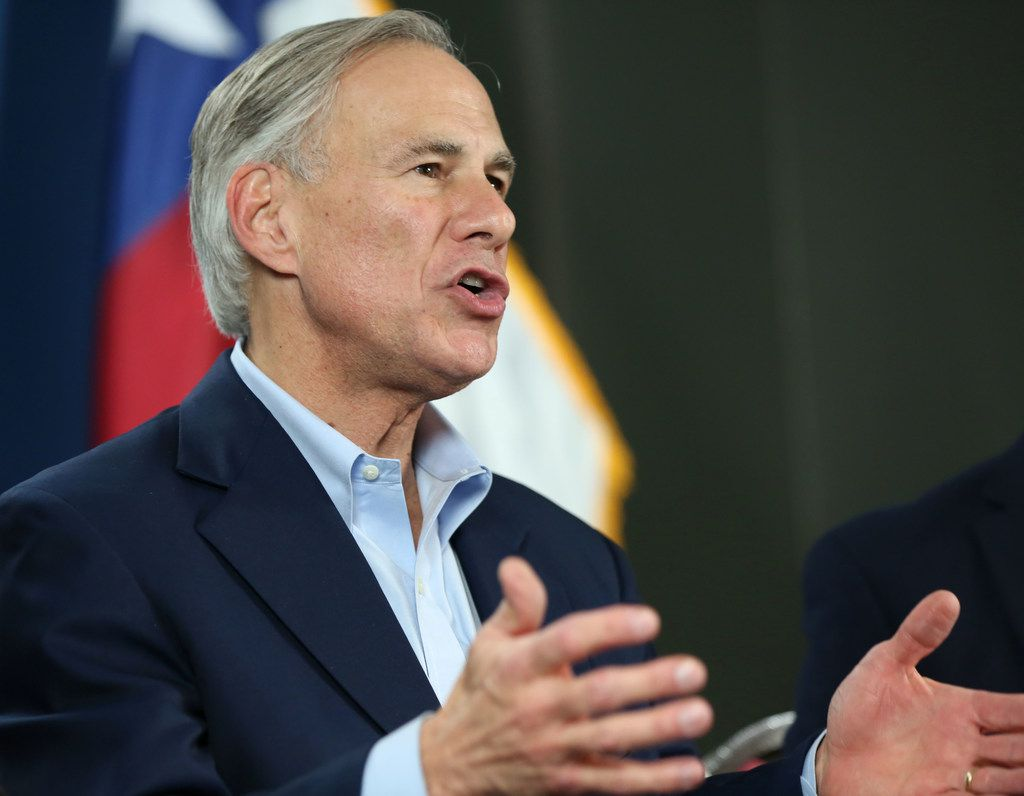 Texas Gov. Greg Abbott, shown as he clinched the Republican nomination for governor earlier this month, is heading Thursday to India in search of deals with Indian companies. (Rose Baca/The Dallas Morning News)