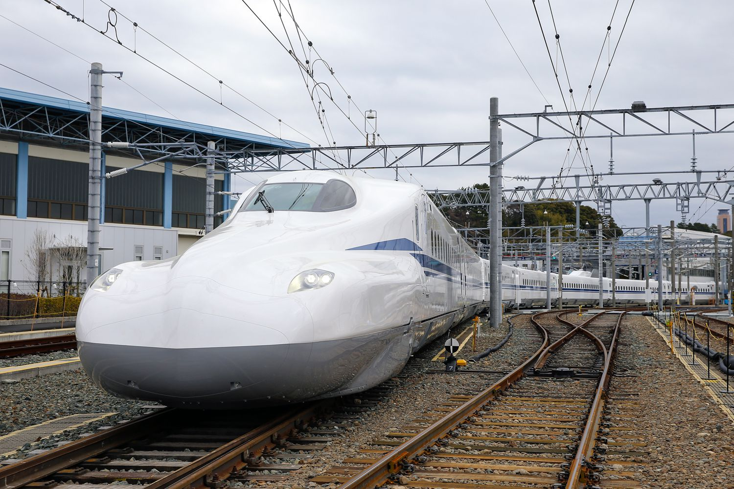 The Shinkansen N700 Supreme train is the planned vehicle for Texas Central Partners' high-speed rail line from Dallas to Houston.