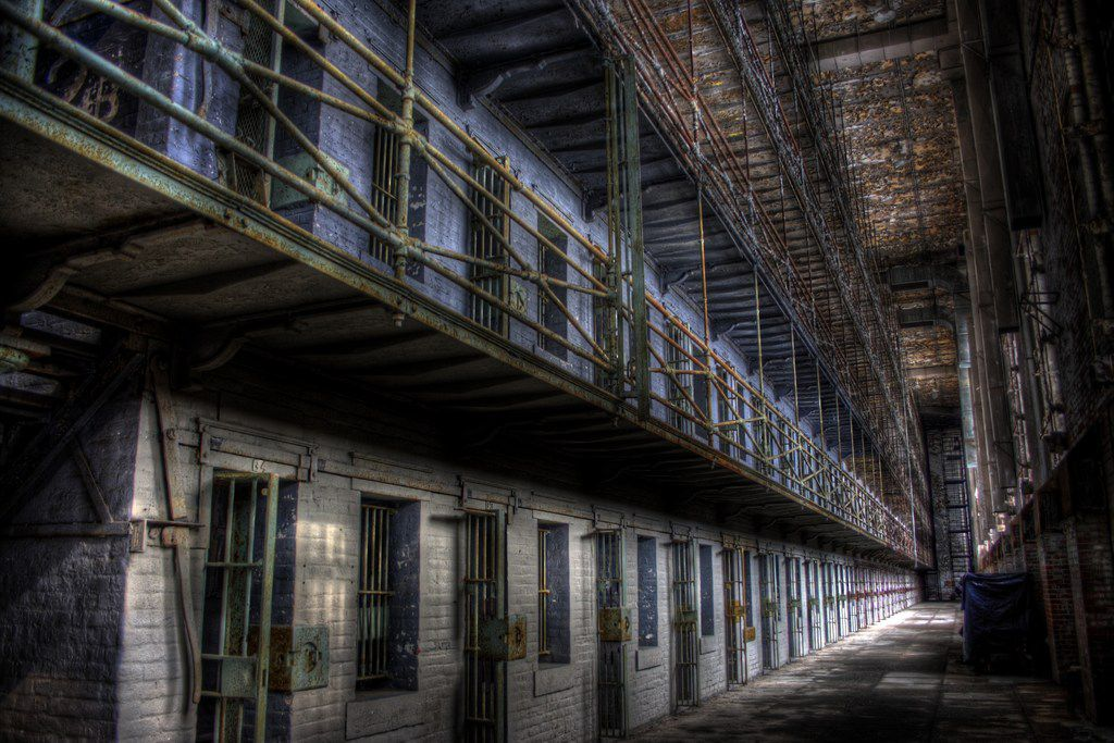 The Ohio State Reformatory in Mansfield, Ohio, hosts the fright-filled Escape From Blood Prison through Nov. 4.
