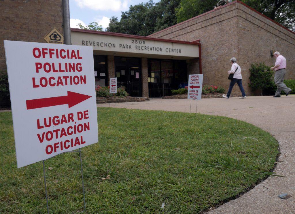 Rosa María Ortega, una residente de Grand Prairie, está acusada de haber votado ilegalmente en la segunda vuelta de las primarias en mayo del 2014. (DMN/RON BASELICE)