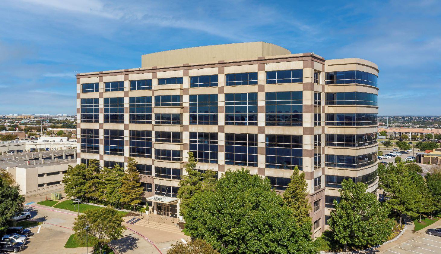 Multiview is in the in the One Panorama Center building in Las Colinas.