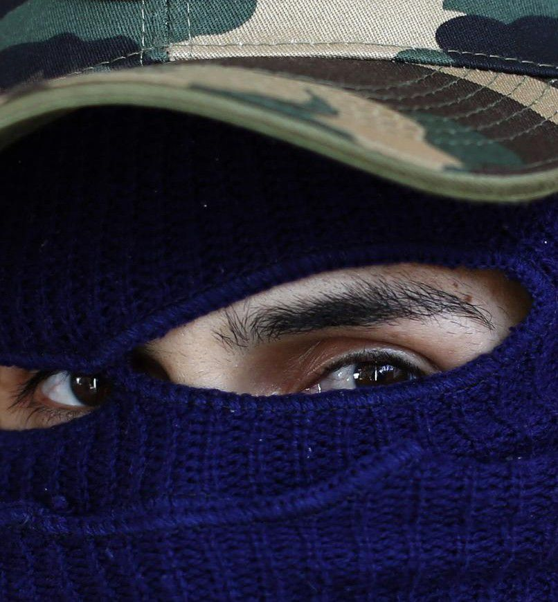 """Este hombre dice ser responsable de """"desaparecer"""" a personas en el estado de Guerrero, en México. (AP/DARÍO LÓPEZ-MILLS)"""