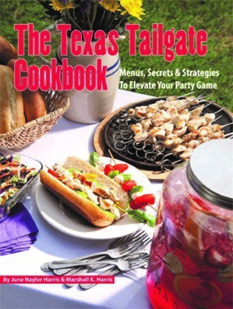 The Texas Tailgate Cookbook ($5.99, Great Texas Line Press) by June Naylor and Marshall Harris.