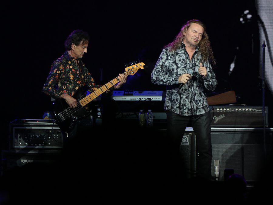 Maná se presentó la noche del sábado 7 de septiembre en el American Airlines Center.
