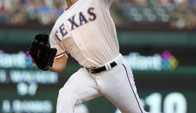 La adquisición del lanzador izquierdo Cole Hamels posiciona a los Rangers como uno de los contendientes en la Liga Americana.(AP)