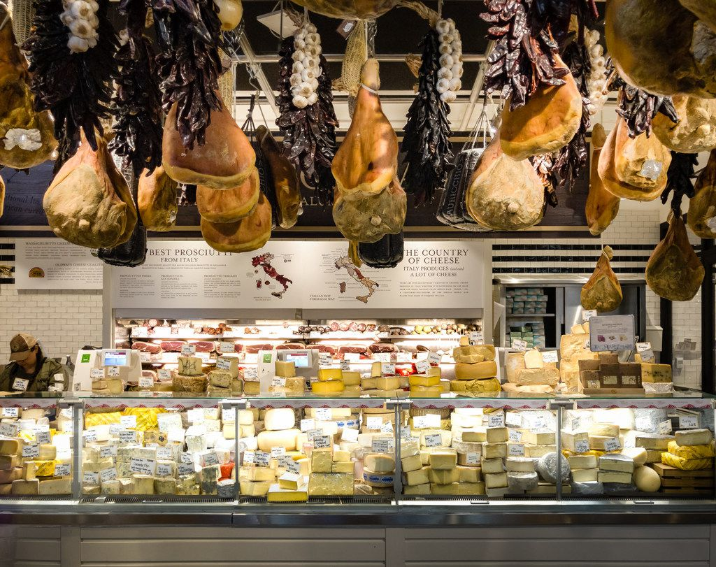 Eataly Boston's cheese shop.