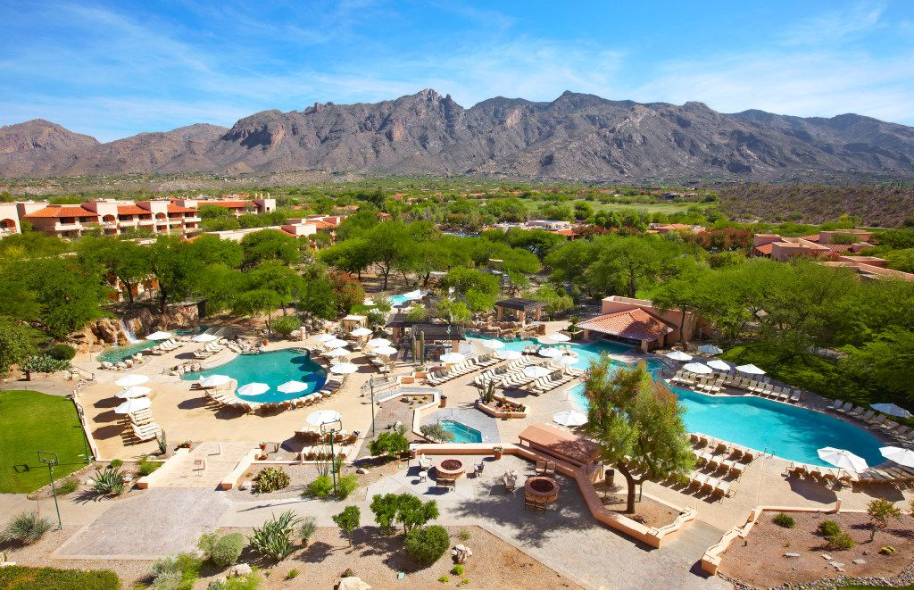 The Westin La Paloma is a posh resort with a wonderful setting north of downtown Tucson.