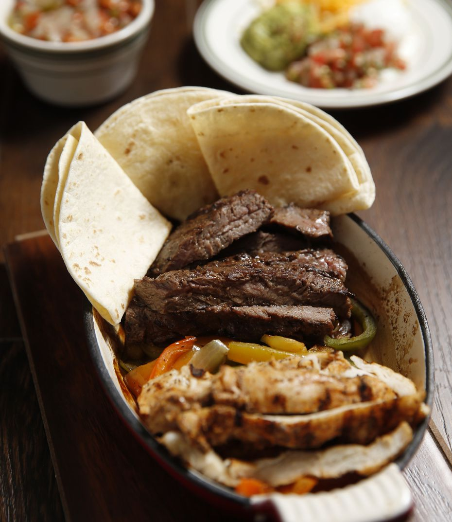 The Cuellar family is best known for opening El Chico and Cantina Laredo. While Tex-Mex dishes like beef and chicken fajitas (pictured) will be sold at Texana Grill, owner Gilbert Cuellar Jr. says the restaurant adds a second layer with barbecue to the menu.