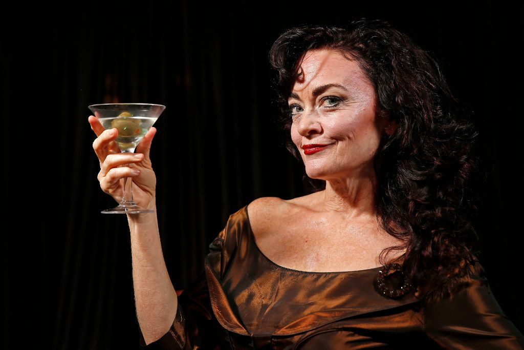 Actress Morgana Shaw stars in All About Bette: An Interlude with Bette Davis, written by Camilla Carr. The show is on a tour, produced by Michael Jenkins' Starlight Entertainment.