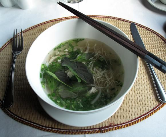 Pho, a traditional Vietnamese dish pictured here, can be found at Saigon Box Vietnamese Kitchen.