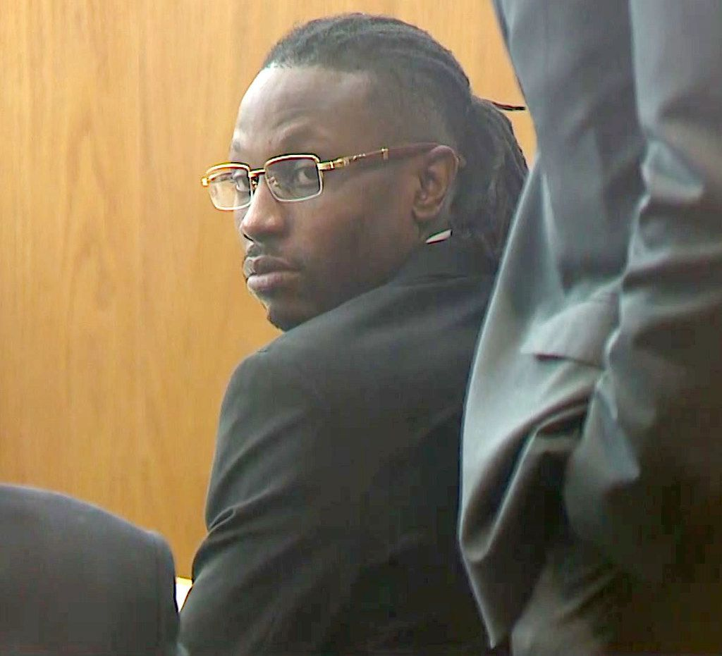 Kristopher Love waited for the verdict to be read Thursday in his capital murder trial.