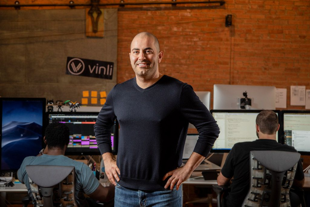 Mark Haidar, founder and CEO of Vinli.