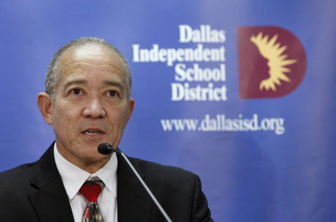 Mike Miles wraps up his first year as Dallas ISD superintendent on Monday.