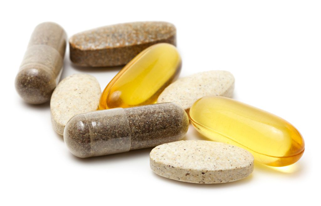 iStock image of dietary supplements.