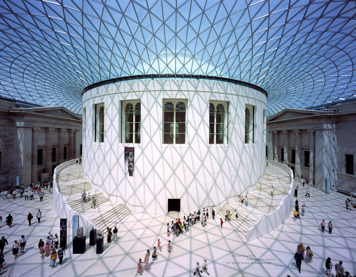 The Great Court at the British Museum in London