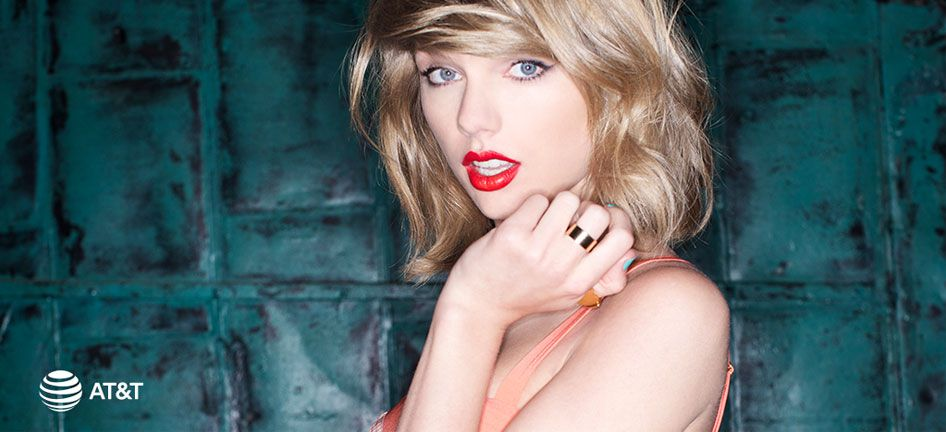 Grammy winner Taylor Swift is one of the new faces of AT&T and its campaign to promote DirecTV.