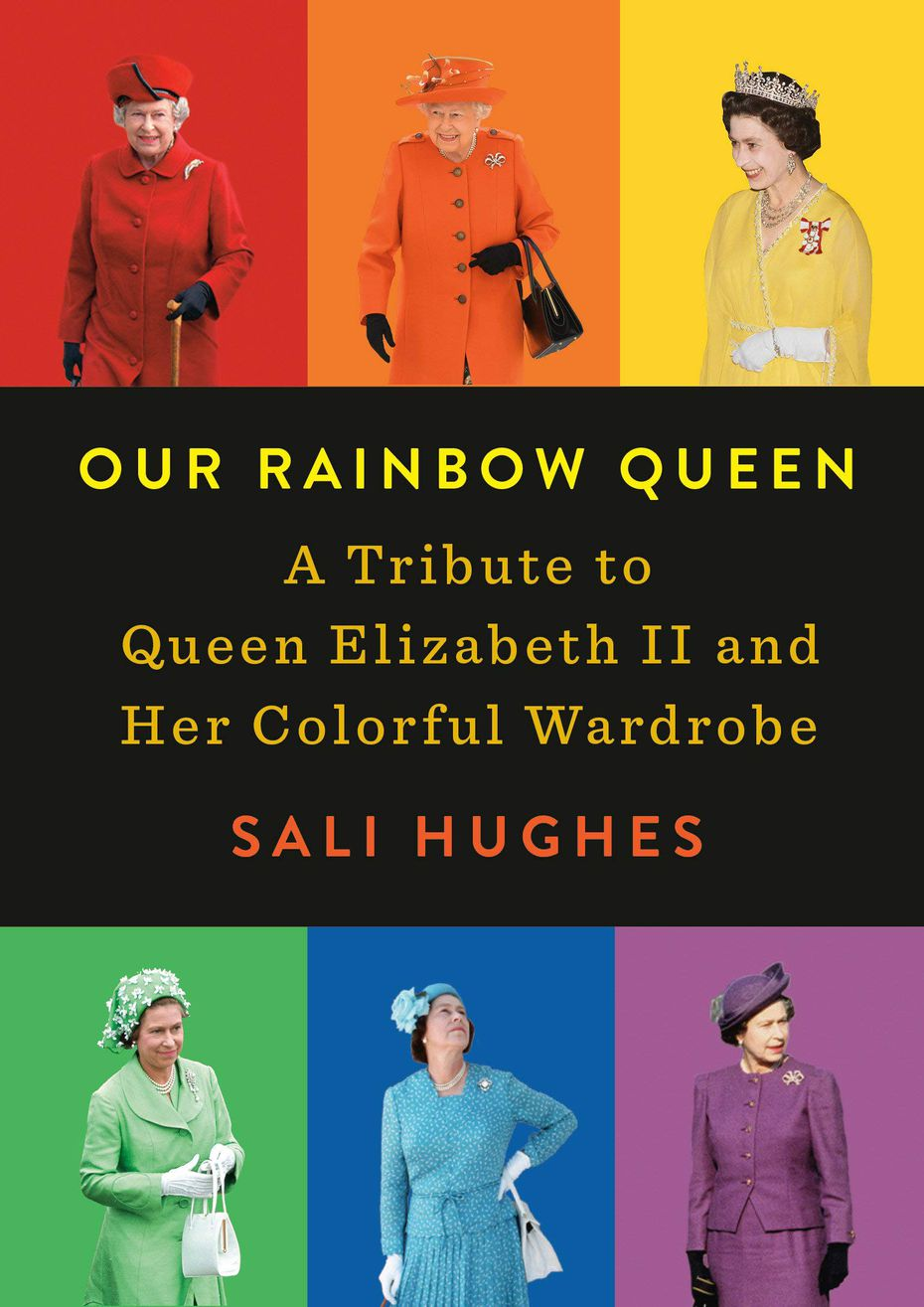 """Our Rainbow Queen: A Tribute to Queen Elizabeth II and Her Colorful Wardrobe"" details the clothes that the queen wears."