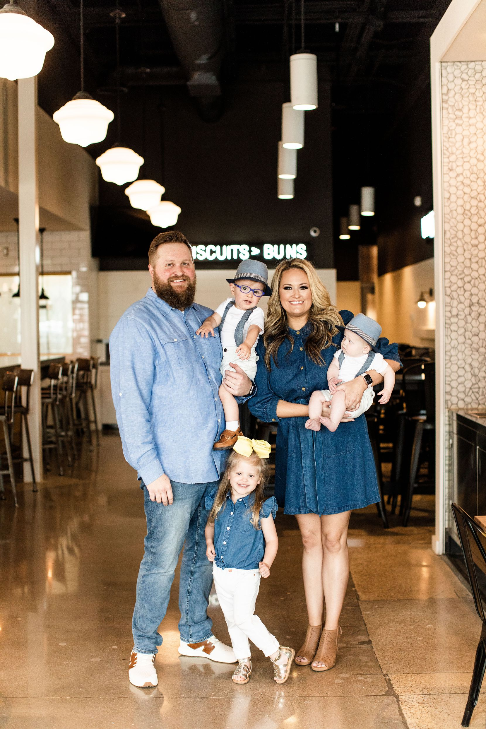The Burketts are the owners of Biscuit Bar.