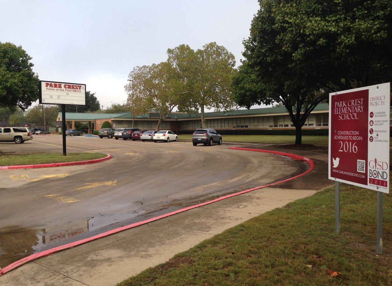 Garland ISD issued a statement Sunday night regarding EPA concerns of environmental hazards just beyond the school's fence line.