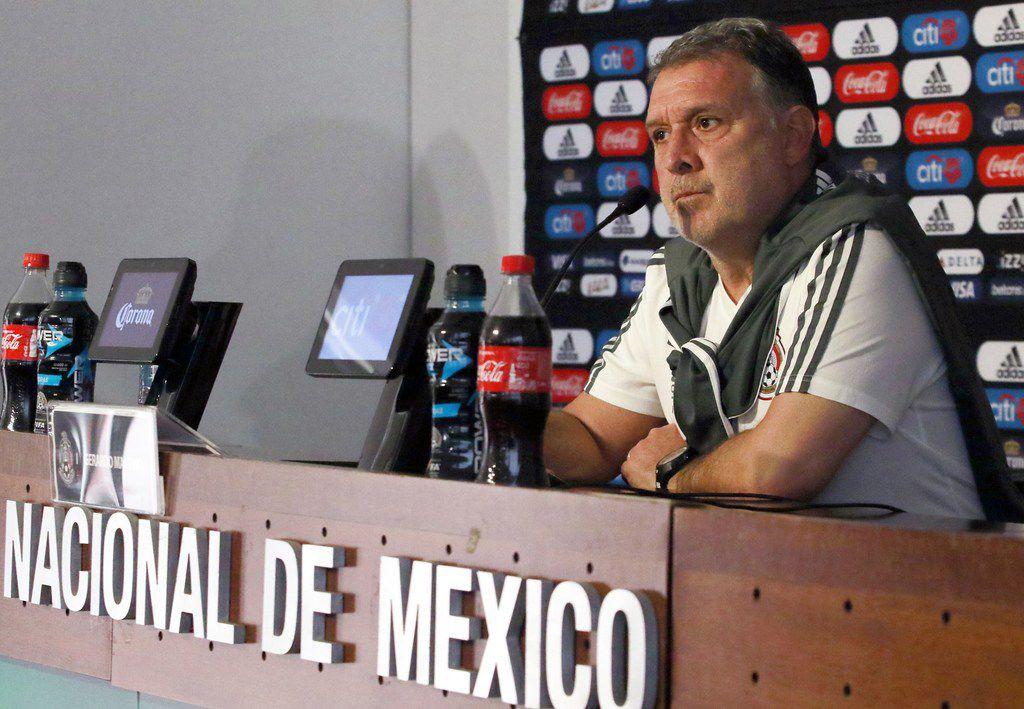 El entrenador de la selección mexicana de futbol, Gerardo Martino, tiene como misión principal llevar al Tri al Mundial de Qatar 2022.