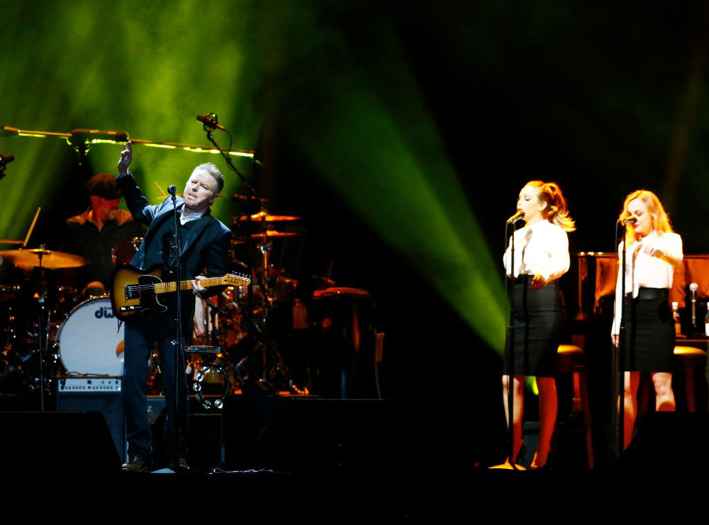 Don Henley seemed young at heart during his 70th birthday party concert.