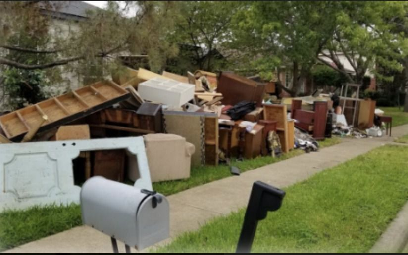 The city amended its solid municipal waste ordinance to create fines for violations. One of the goals for the stricter regulations is to avoid unsightly neighborhood appearances such as furniture dumping in yards, the city said. (courtesy City of Mesquite)