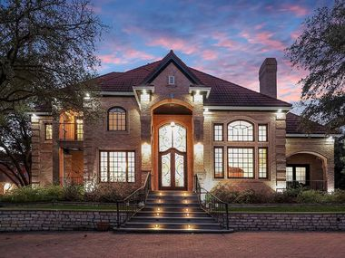 This home, 4405 Windsor Ridge Drive, is now listed for $3.795 million.