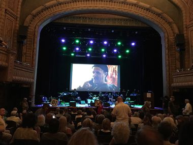 The interior of the Paramount Theatre in Austin, site of the Jimmy LaFave tribute show on Thursday, May 18, 2017.