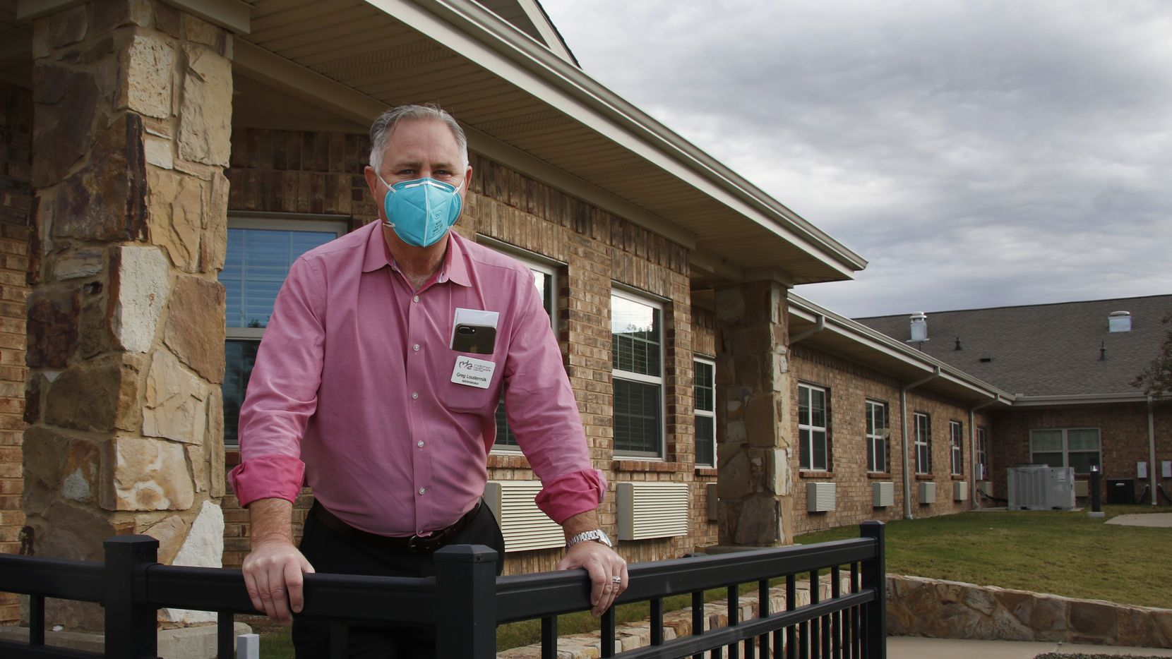 Greg Loudermilk faces challenges in keeping his staff and residents safe from COVID-19 at the Midlothian Healthcare Center in Ellis County.