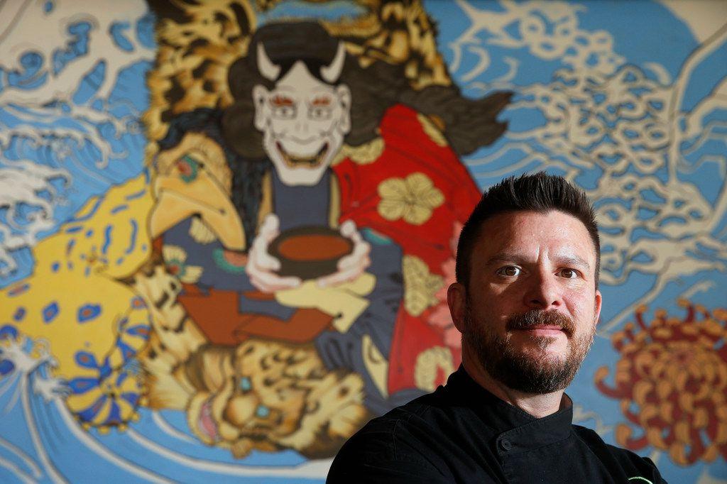 Chef Marshall Lamb of Oni Ramen