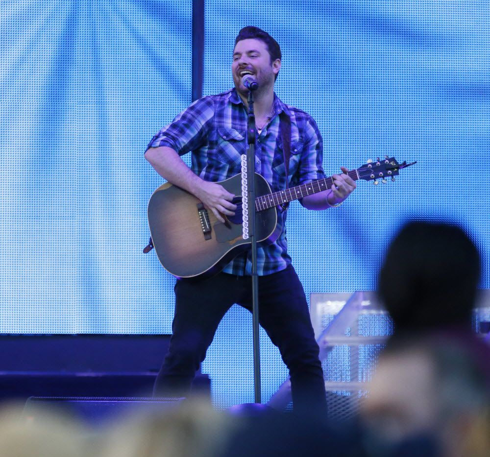 Chris Young performs in a 2016 concert in Frisco.