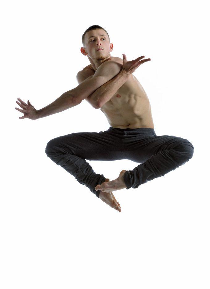 Brandon Alley of Ballet BC.