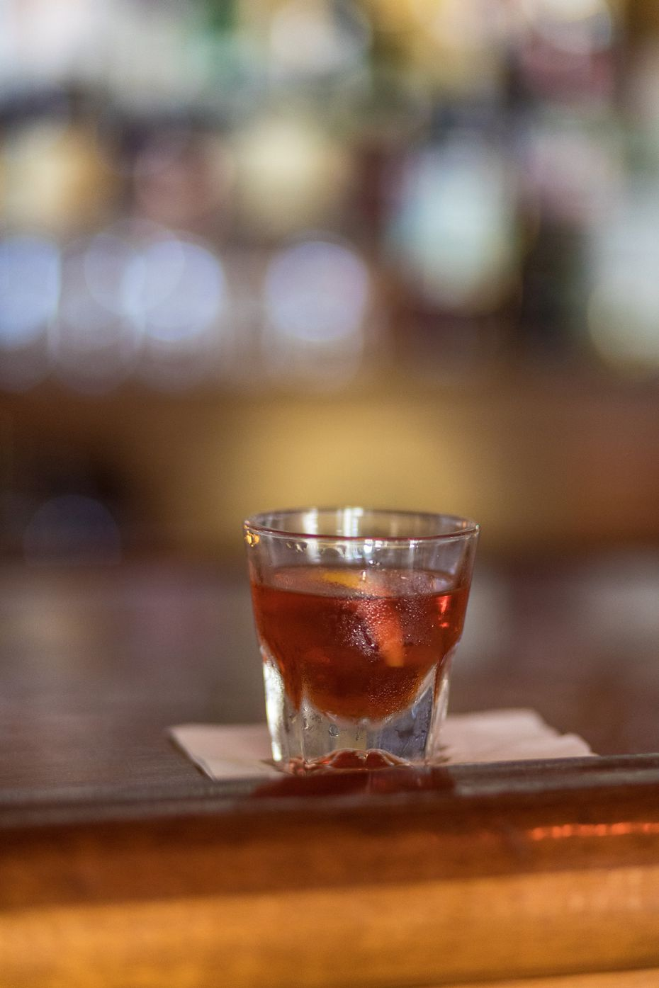 The Sazerac is New Orleans' official cocktail.
