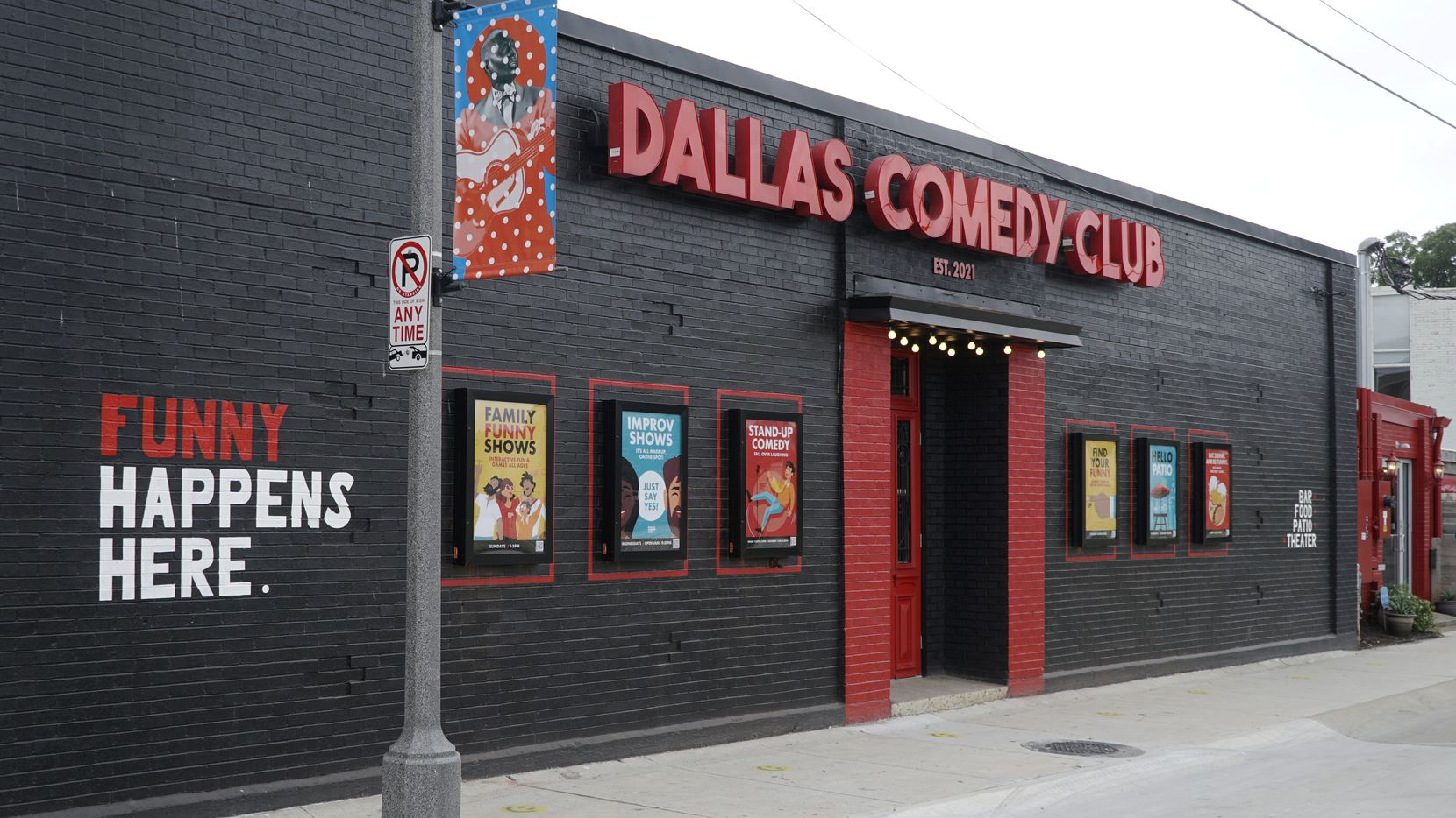 Dallas Comedy Club opened Wednesday in the Deep Ellum building where Dallas Comedy House shuttered last year. The new owners say they hope the club elevates the city's comedy scene.