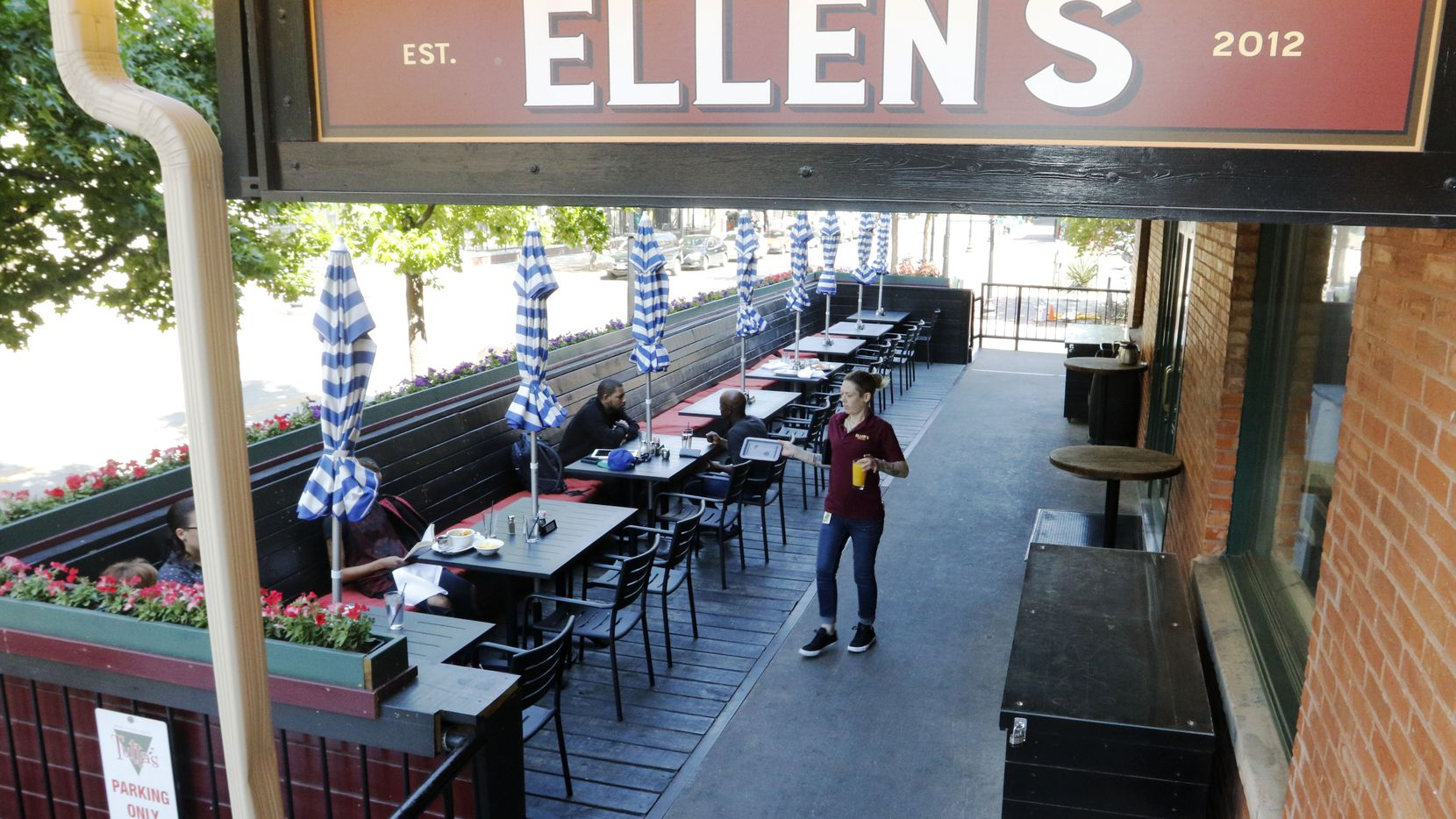Ellen's, a brunch spot in West End, tripled its capacity after they found that serving breakfast all day was popular among travelers and businesspeople in Dallas.