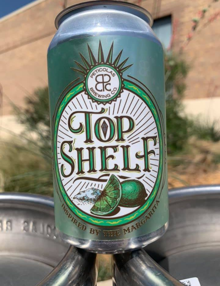 Top Shelf is a new beer from Peticolas Brewing that's inspired by the margarita.