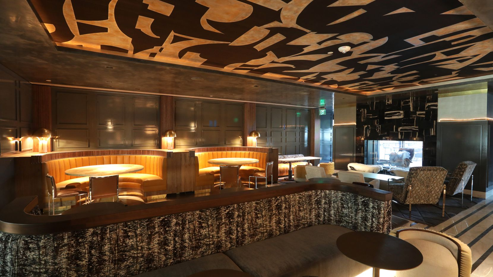 At Thompson hotel in Dallas, a restaurant and bar on the tenth floor named Catbird is opening at the end of November.