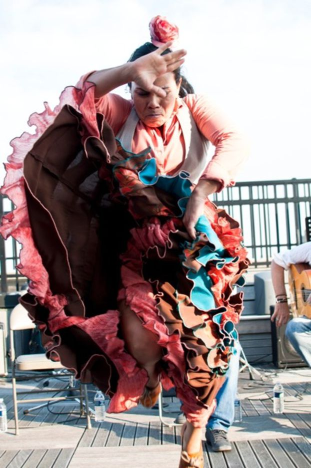 Flamenco dancing star Valeria Montes is based in Albuquerque, N.M., the center of flamenco culture in the U.S.