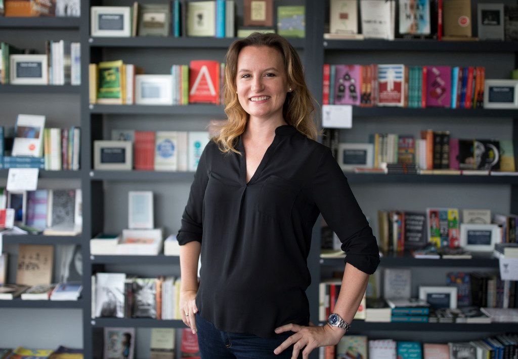 """""""I really, really want to raise my hand on this one,"""" wrote Anne Hollander when she heard that Deep Vellum Books needed a new operator. Today she is running the Dallas store."""