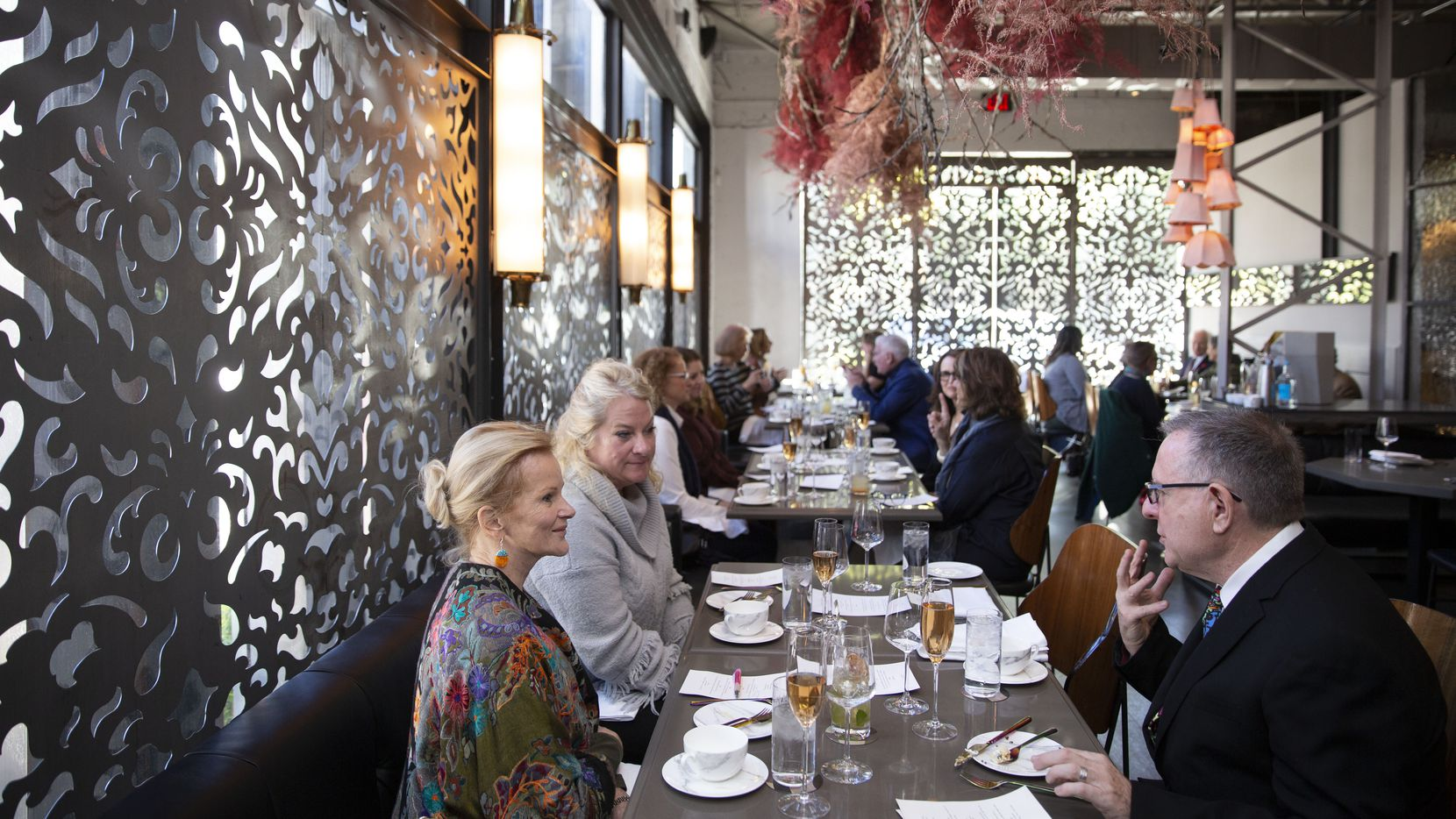 The dining room at Grange Hall, during the Dallas Morning News' EatDrinkInsider event last month.