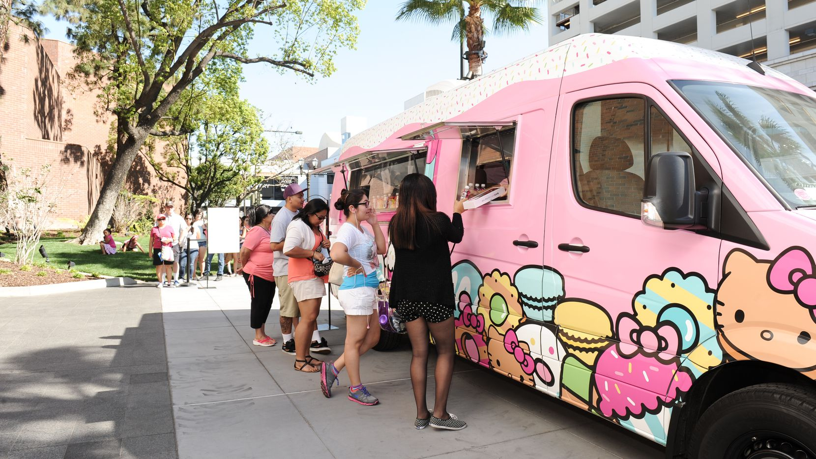 The Hello Kitty Cafe truck is stopping in Frisco on Aug. 1, 2020 and in Fort Worth on Aug. 8, 2020.
