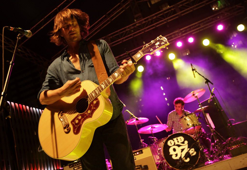 Rhett Miller performs with Old 97's during the Old 97's County Fair held at Main Street Garden Park in Dallas, TX, on Apr. 16, 2016. (Jason Janik/Special Contributor)