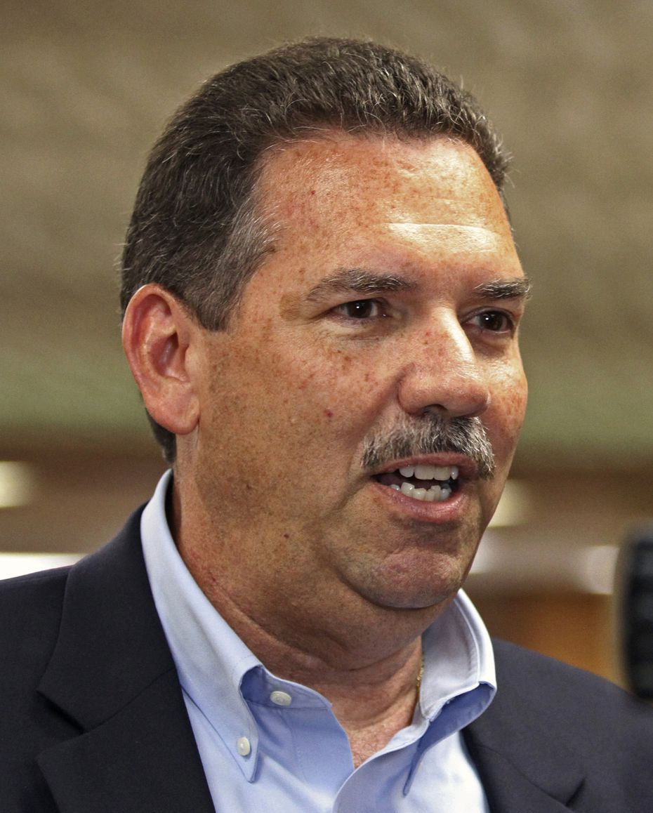 Ector County Independent School District's new superintendent Scott Muri. (Jacob Ford/Odessa American via AP)