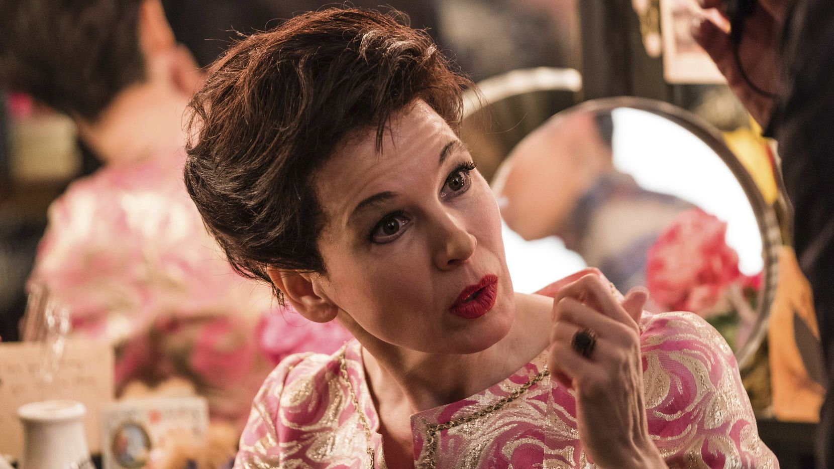 "This image released by Roadside Attractions shows Reneée Zellweger as Judy Garland in a scene from ""Judy."""