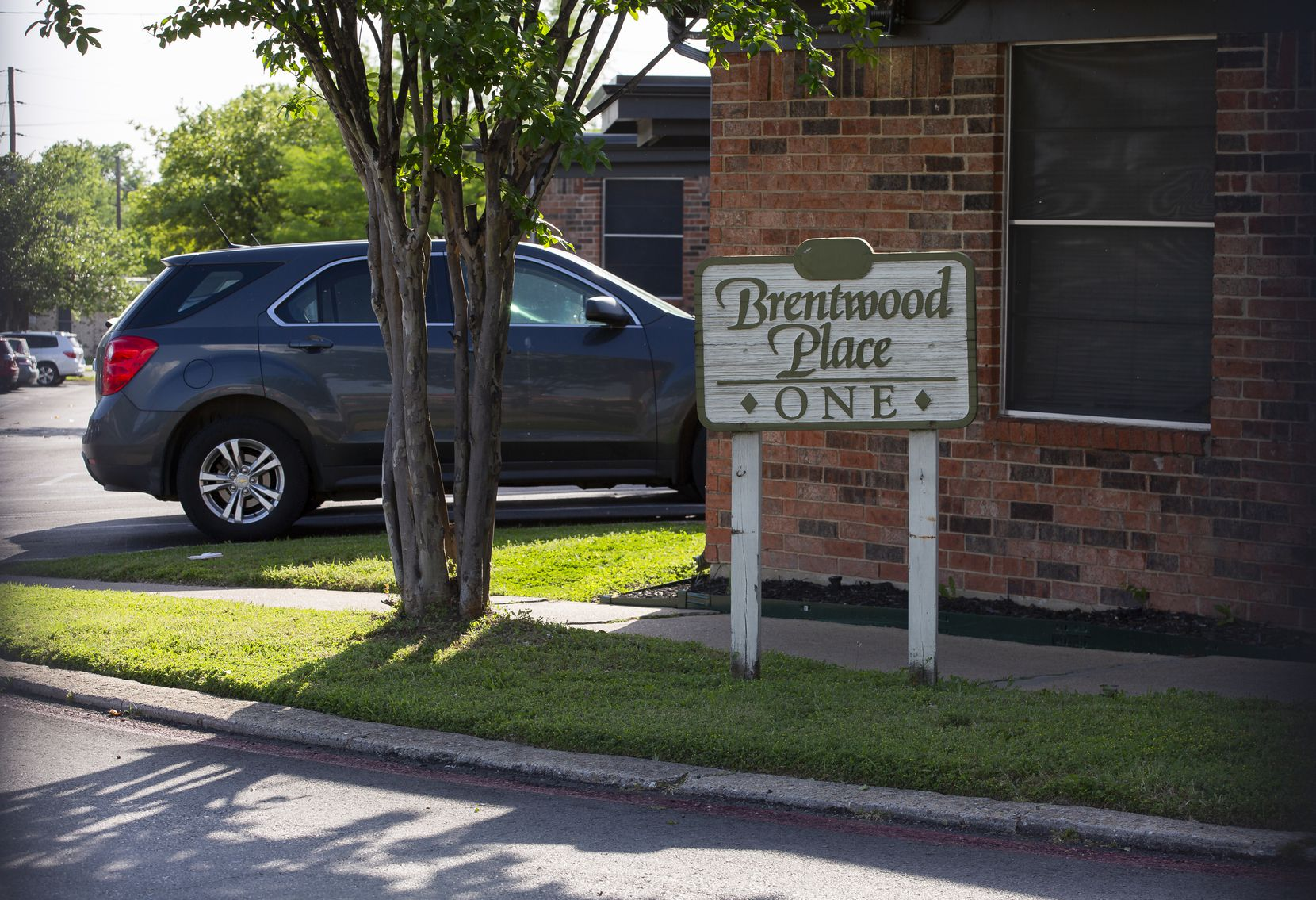 The exterior of Brentwood Nursing Home (Building #1) on April 24, 2020 in Dallas. (Juan Figueroa/ The Dallas Morning News)