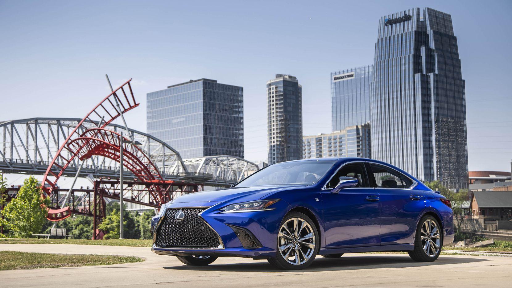 Lexus' ES series is the 30-year-old brand's best selling midsize-luxury sedan.