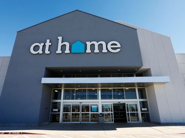 Exterior of an At Home store in Plano.